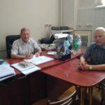 На кафедре КИТАМ состоялась встреча директора по развитию ООО «Научно-производственное объединение» Транссистема»